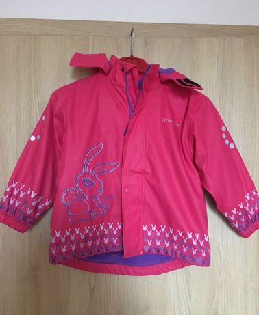 Детско яке за дъжд с подплата, размер 4-5г.