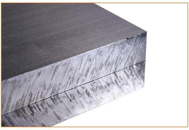 Placa de ALUMINiu 6061 (100mmx100mmx grosime= 8mm)