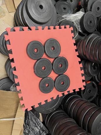 Discuri pt.Gantere reglabile si pt haltere noi de 1,25 kg germany 30 m