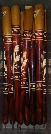 Ручка деревянная, свисток