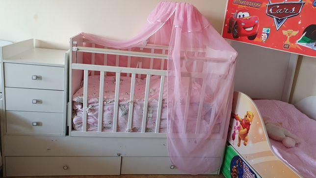 Продаётся детское белые кровать ФЕЯ.