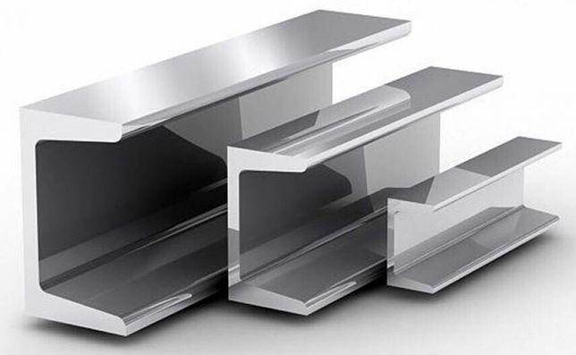 Швеллер стальной, металлопрокат Новый, сертификаты качества, Доставка