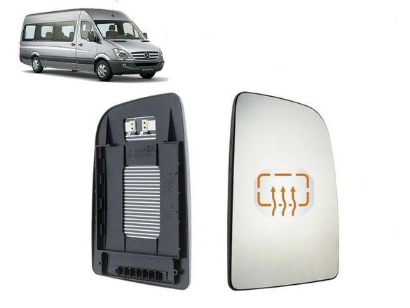 Стъкло за огледало с подгряване VW Crafter 2006-2009