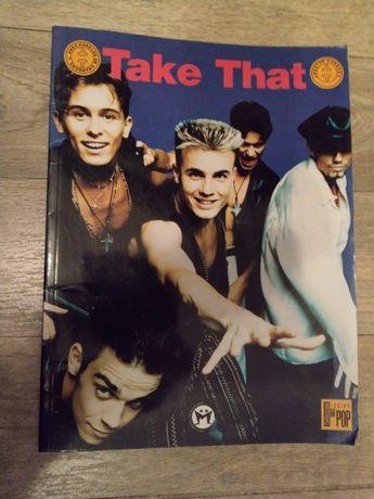 Carte de colectie cu poster Take That-Robbie Williams Mark Owen