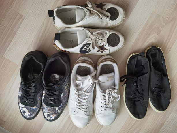 Кроссовки, мокасины, туфли