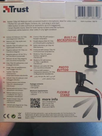 Trust Webcam HD 720P