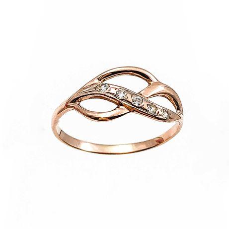 АКЦИЯ! Золотое кольцо с фианитами 585 пробы «Ломбард Верный» С5804