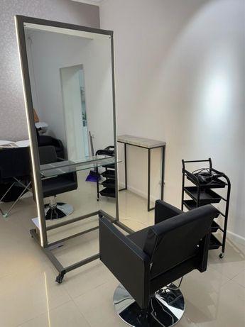 Зеркало парикмахерское, двусторонее