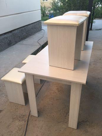 Продам Новый! кухонный стол с 4 стульями