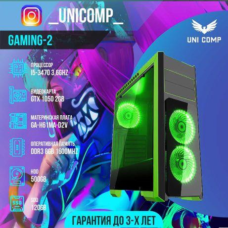 РАССРОЧКА! Игровой компьютер (системный блок) i5 , 8gb, Gtx 1050 , SSD