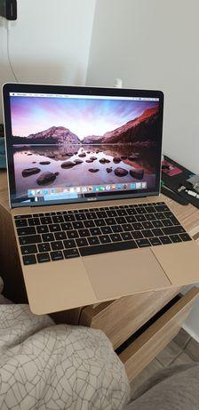 Laptop Apple MacBook retină A 1534 auriu slim