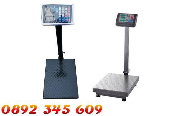Платформена електронна везна до 300 кг сгъваем