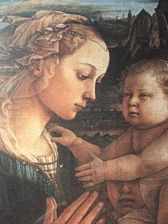 "2 Tablouri canvas ""Michelangelo"""