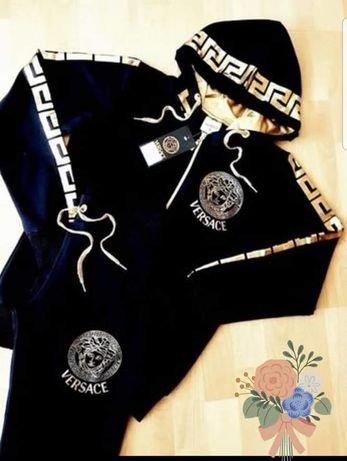 Treninguri Versace unisex logo auriu,new model/diverse mărimi,