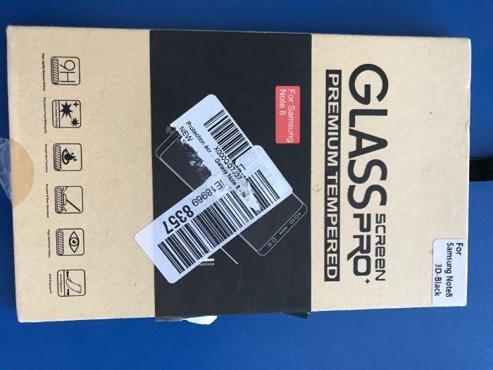 Folie sticla ecran Samsung note 8 3d black Onesti - imagine 1