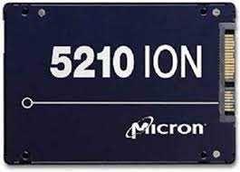 SSD Micron 2TB SATA3 , 2.5, model 5210, 1920 gb, sigilate, garantie