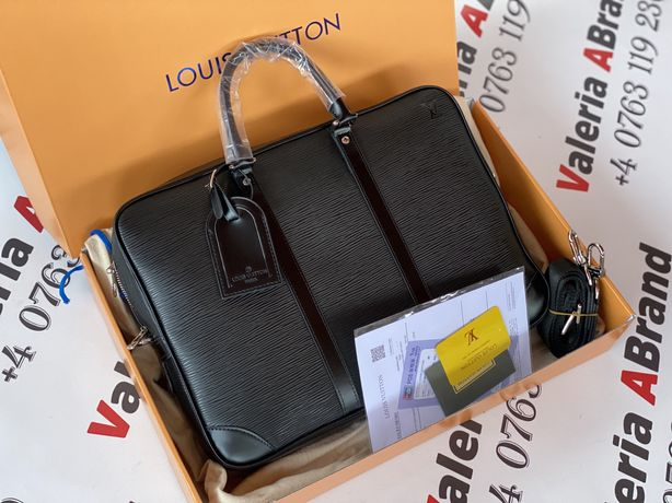 Geanta Louis Vuitton - Porte Documents Voyage Epi