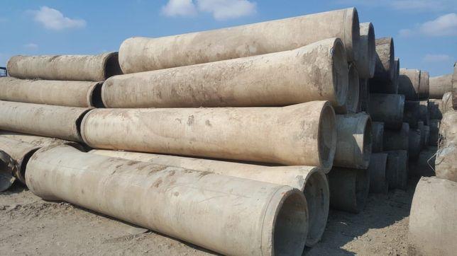 Tuburi beton armat pentru podete