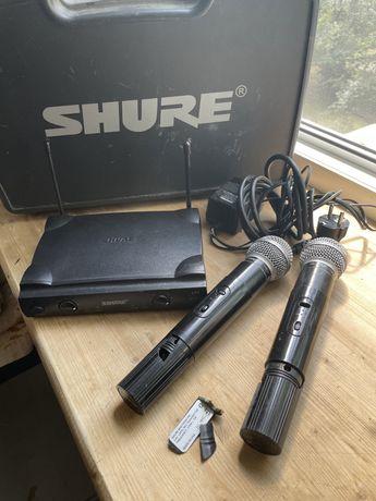 Беспроводные микрофоны Shure sm58