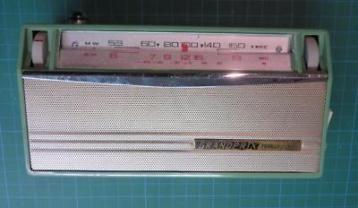 Стар винтич транзистор Grand Prix 9 Японски от 1963г.