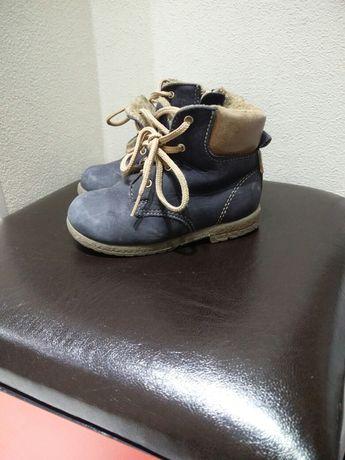 """Продам детские демисезонные батинки. Фирма """"Лель"""" 21 размер."""