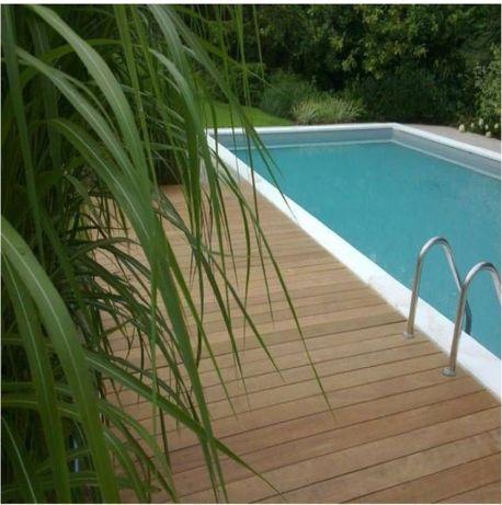 Scandura / deck pentru terasa/piscina din pin impregnat, 28x145x4000mm