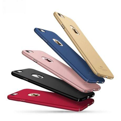 Матов кейс Thin Fit за iPhone 6 / 6S / 6+ / 7 /7+ X 10 Ултра тънък