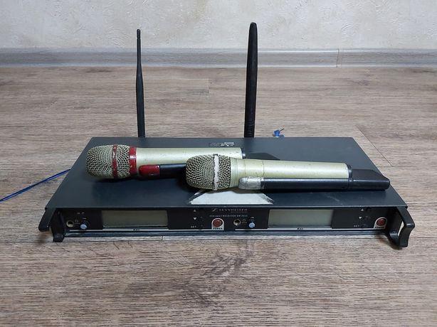 Радиомикрофоны SENNHEISER EM3032 со встроенными аккумуляторами
