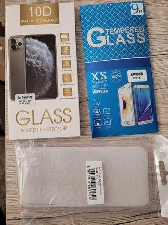 Husa și folie sticla  Samsung S20 FE