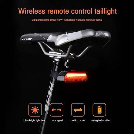 GUB stop semnalizare usb Wireless bicicleta led ipx4