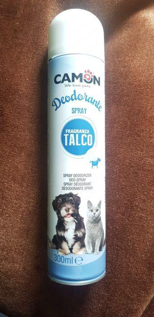 Deodorant cu talc 300ml pentru câini și pisici