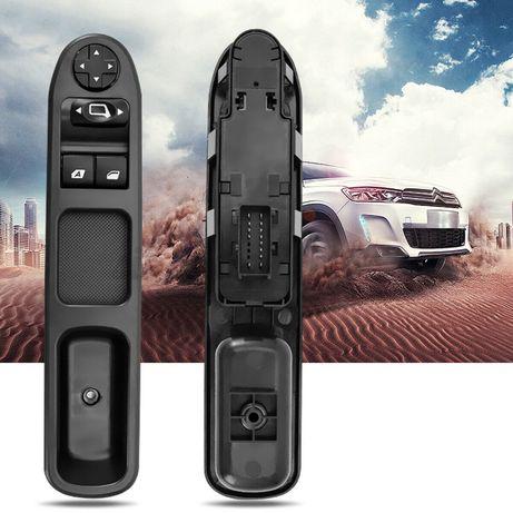 Дръжка с бутони за ел.стъкла копче огледала Пежо 207 Peugeot 207