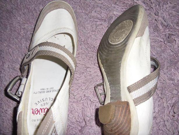 pantofi S.Oliver ,piele naturala