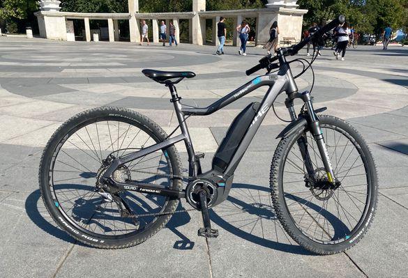 Електрически велосипед Haibike Sduro, 29 цола, модел 2017г, перфектен.
