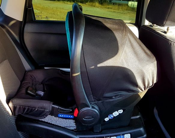 Scaun (scoica) auto Junior Baby ( Graco Evo II) + Baza Snugride