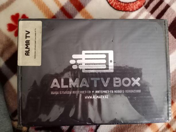 Almatv box новый в упаковке интернет телевидение