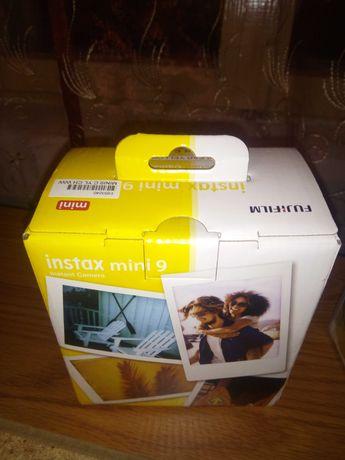 Camera foto instant Fujifilm Instax mini 9, Galben