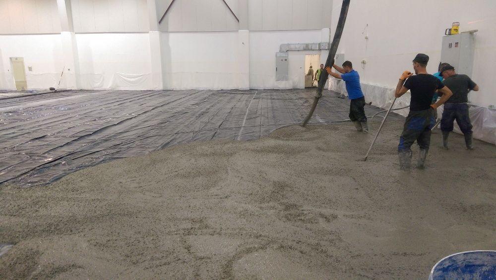 Pardoseli industriale din beton elicopterizat sau rași epoxidice Ramnicu Valcea - imagine 1