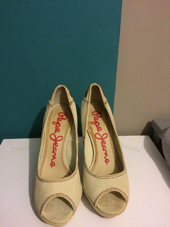 Pantofi decupati Pepe Jeans