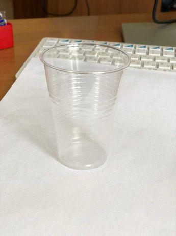 Пластиковый стакан одноразовый 0,2мл 4,5тенге