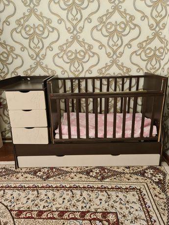 Детский кровать-качеля