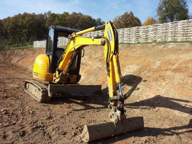 Utilaje constructii Excavator  Sapaturi mecanizate Fundatie Canalizare