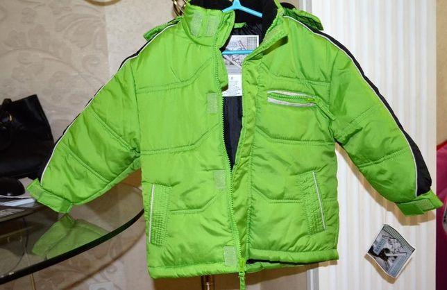 Куртка детская, теплая