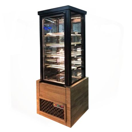 Vitrina cofetarie verticala frigorifica noua in stoc