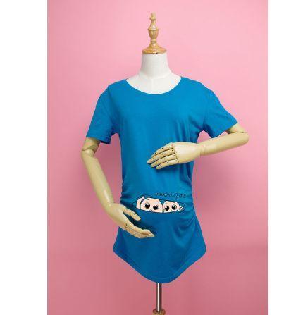 Тениска за бременни с близнаци
