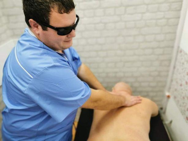 Nevăzător efectuez masaj la domiciliu clientului 25ron / 30min
