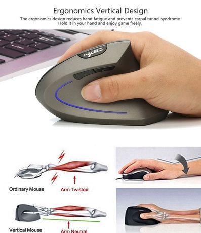 Mouse vertical wireless cu acumulator * NOU