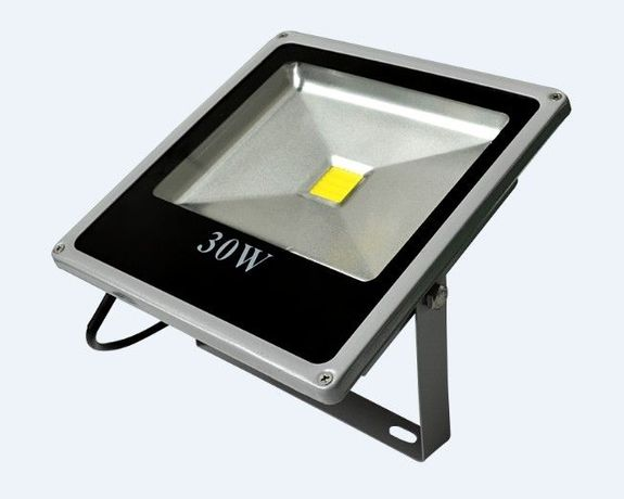 1044 LED Прожектор Слим IP67 30W, Студена Светлина