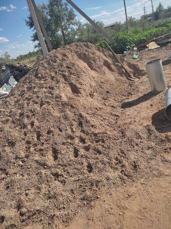 Песок, балласт, цемент