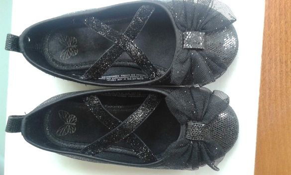 Обувки  с брокат
